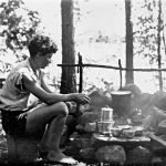 Camping in Maine with Nick Rogers, summer 1932
